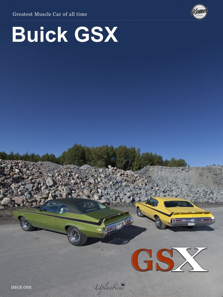 During the peak of the muscle car era there was one king above the rest. That king was the Buick GSX. The GSX arrived with a gigantic 455 cid V8 and a Hurst four-speed, fueling all the grunt any self-respecting son of the  Seventies needed.  Photos and information around two of these rare cars. https://itunes.apple.com/se/book/buick-gsx/id964135965?mt=11&uo=4&at=11lHef