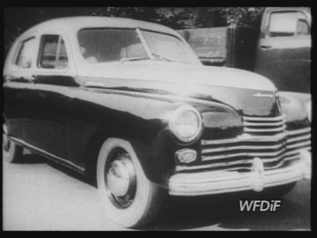 1946. Russian cars: Pobieda [video] (REPOZYTORIUM CYFROWE FILMOTEKI NARODOWEJ) #car #retrocar #pobieda