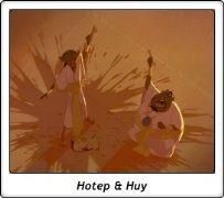 Hotep y Huy / El Príncipe de Egipto / The Prince of Egypt / 1998 / Dreamworks
