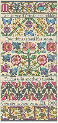 Froth & Bubble - Cross Stitch Pattern