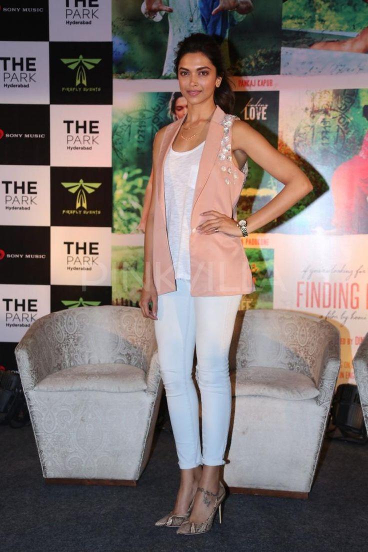 Deepika and Arjun promote Finding Fanny in Hyderabad   PINKVILLA
