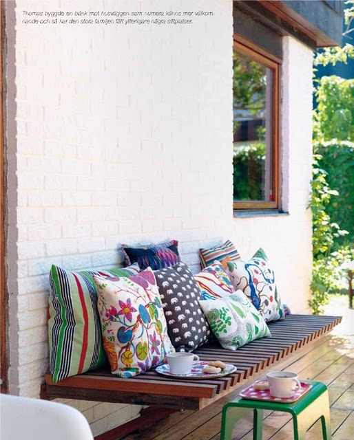 Beautiful Bench for outside!