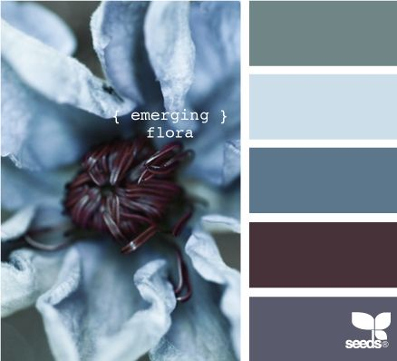 These were my mom's colors. She had some blue in every room in the house. I don't wear blue, but Sammi is drawn to it!