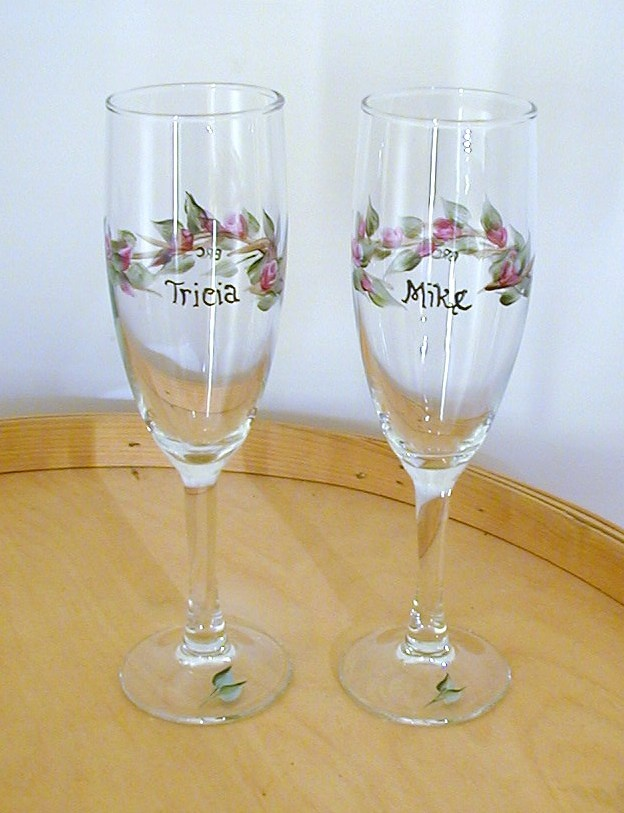 Bride To Be Champagne Glasses