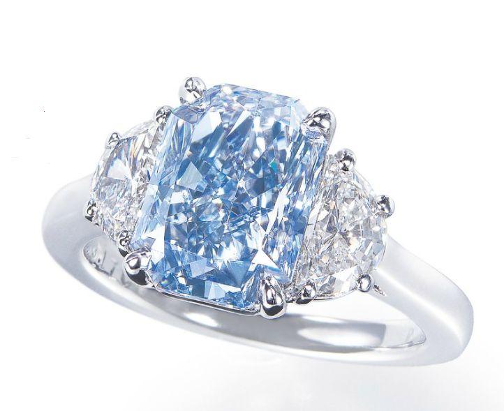 Resultado de imagen para blue  diamonds jewelry
