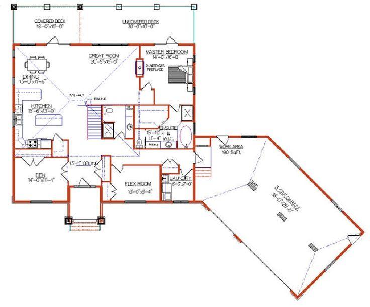 8 best garage plans images on pinterest garage remodel for Angled garage rambler house plans