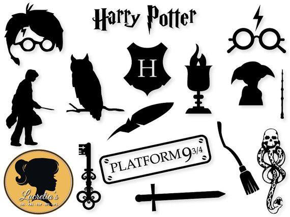 Harry Potter SVG Harry Potter dxf harry potter by LucretiasSvg                                                                                                                                                                                 Mehr