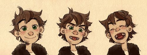 Young Hiccup so cute