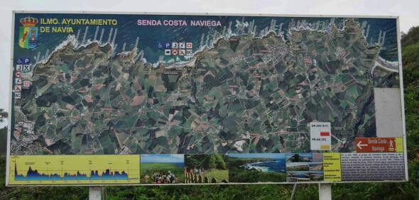 El Área de Deportes organiza una ruta de senderismo por la Costa Asturiana
