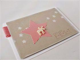 Carolas Bastelstübchen: Noch mal Weihnachtskarten in Chili-Savanne-Flüsterweiß........