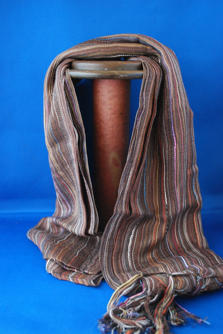 Go natural with this earthy Guatemalan scarf