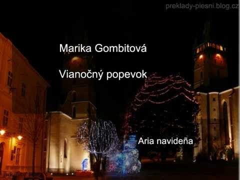 Marika Gombitová - Vianočný popevok