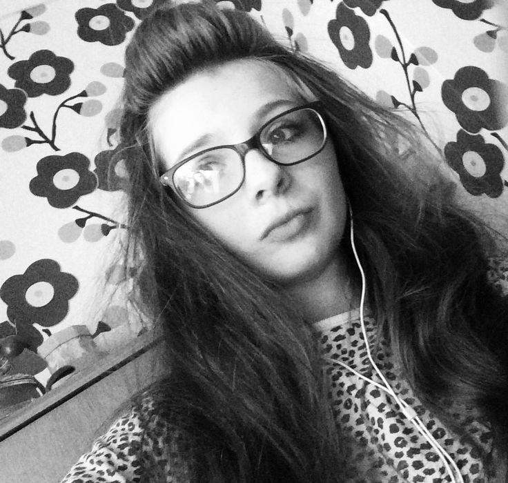 Me lol look at my hair