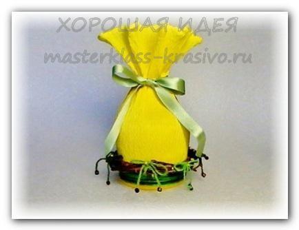 Пасхальная корзинка Мастер класс