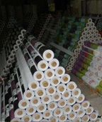 voksdug for rolls in our warehouse,perfect quality!  alex@wintop-pvctablecloth.com