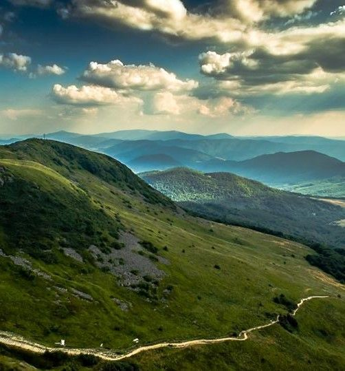 Tarnica... The highest peak of the Polish Mountains.