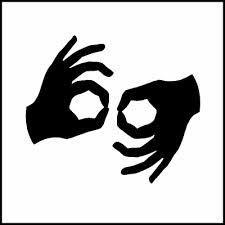 Deaf (Interpreter Sign)