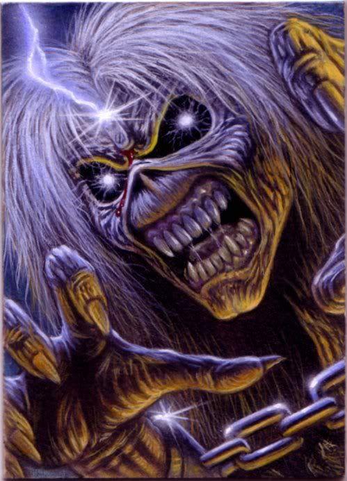 ACEO Iron Maiden Card 3 by taplegion.deviantart.com on @deviantART