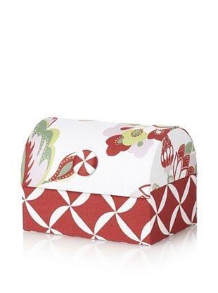 71% OFF Image By Charlie Cotton Sateen Taylor Envelope Chest, Floral, Multicolor