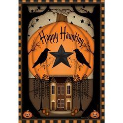 Primitive Halloween Flag