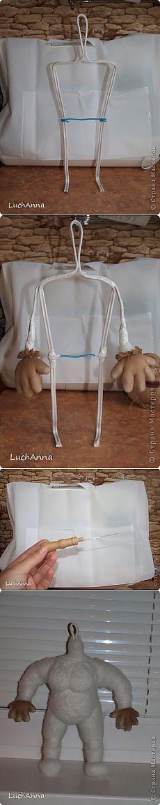 Кукольный каркас и тело (мини МК) | Страна Мастеров