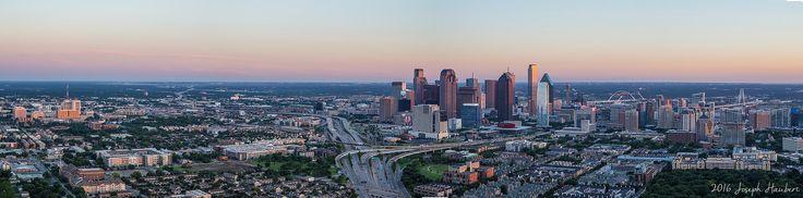 Dallas 180 Skyline 2016 | 2016 Joseph Haubert www.josephhaubert.com