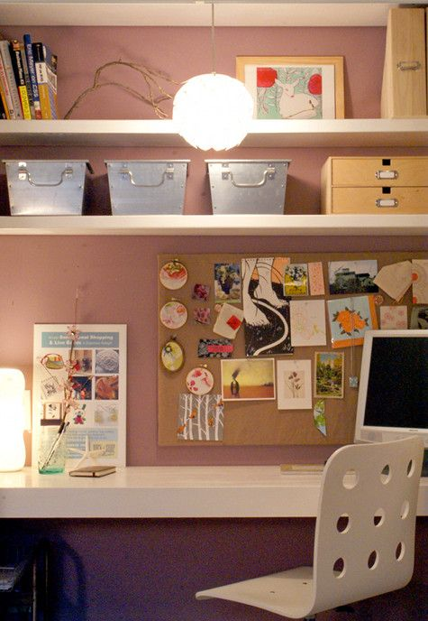 closet office design sponge ~I've been wanting to do this-first step-remove closet doors!