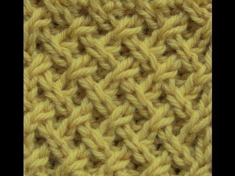 Tight Lattice Stitch - YouTube