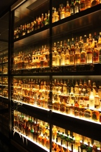 The worlds biggest whisky collection at the Scotch Whisky Experience in Edinburgh.  I have got to do this!