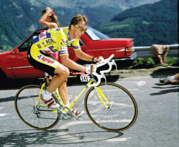 1989 Tour De France Greg Lemond Alp D Huez Time Trial
