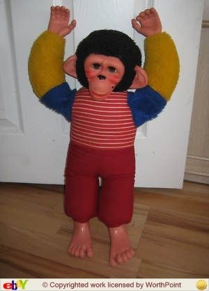 Jacko Monkey I had one of these scarey creatures !