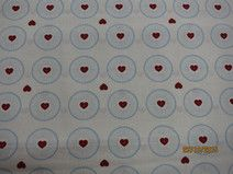 Bawełna wzór rozetki