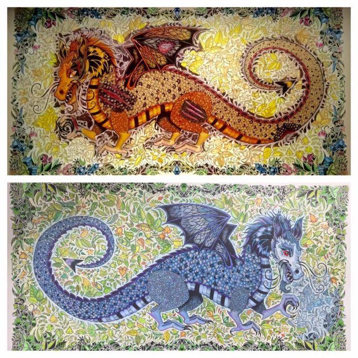enchanted forest dragon original - photo #11