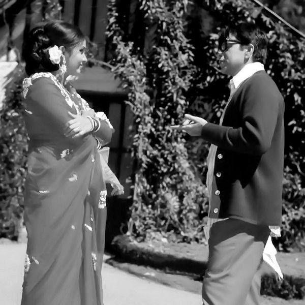 Dilip Kumar & Leena Chandavarkar