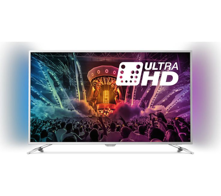 "PHILIPS 55PUS6501 Smart 4k Ultra HD HDR 55"" LED TV"