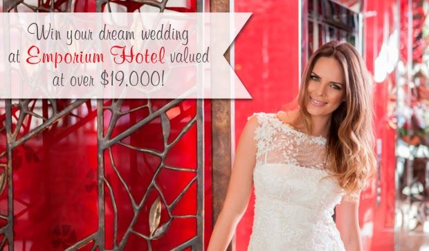 Queensland Brides: WINWINWINWINWIN Your Dream Wedding at Emporium Hotel Worth Over $19 000! #wedding #competition #win #Queensland #Brides #reception www.emporiumhotel.com.au