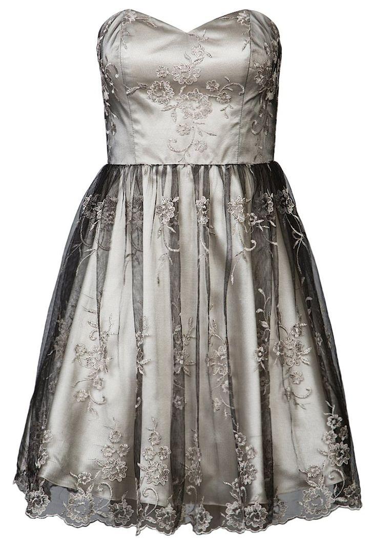 Laona Cocktailkleid / festliches Kleid - light beige/black/frappe - Zalando.de