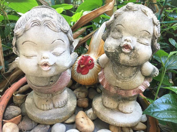 10 mega creepy weirdo enge poppen voor in je tuin! HORROR!