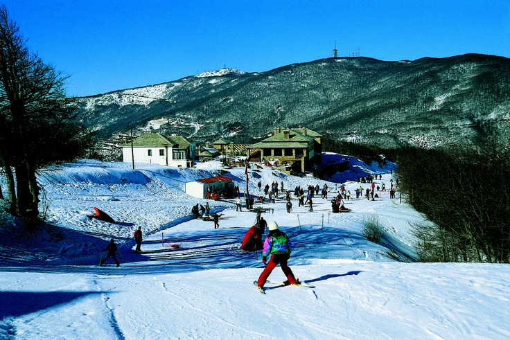 Chania, Lefkes ski resort, Pelion mountain, Thessaly Greece