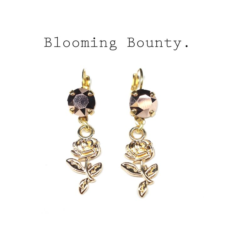 #handmadejewelry #handmade #agatheponz #roses #jewelrylovers #supporthandmade #rosegold https://www.etsy.com/de/listing/263392050/swarovski-ohrringe-vergoldet-rosa