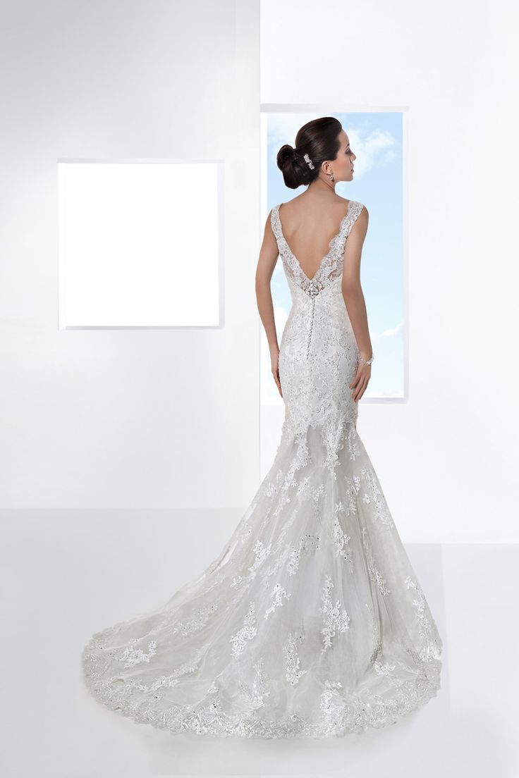 Ultra Sophisticates by Demetrios gown