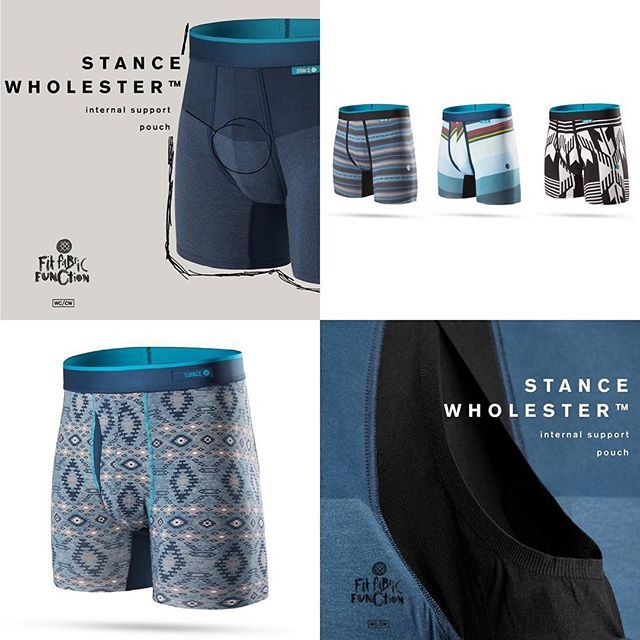 Upgrade your life in 2016 with the help of Stance & their new 'Wholester' underwear. A 2-layer, internal support pouch will keep your guys in place no matter the conditions while their Butter Blend fabric nourishes skin & maintains odor resistant qualities. Check out the entire Stance underwear offering in-store & online at MODA3.com today! $36 #stance #theuncommonthread #thewholester #wildlycomfortable #comfortablywild #underwear #MODA3 #streetwear #milwaukee