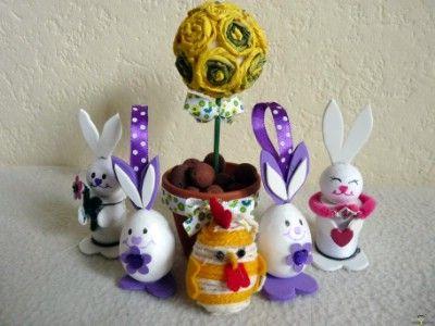 Kreatív ötletek húsvétra: Húsvéti csibe hungarocell tojásból    http://www.hobbycenter.hu/Unnepek/kreativ-oetletek-husvetra-husveti-csibe-hungarocell-tojasbol.html