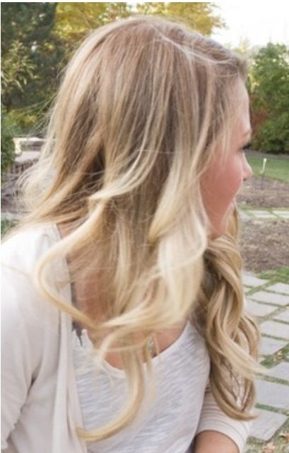 Blonde ombre, like this color as well. It may be time to bring it back closer to normal color for me.