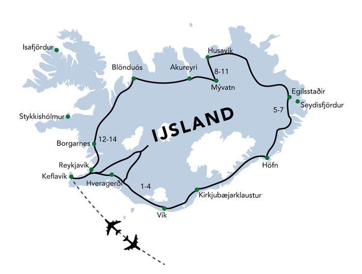IJsland via vakantiehuizen