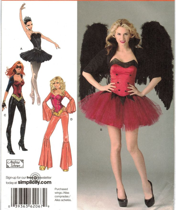 101 best Halloween & Costume Patterns images on Pinterest ...