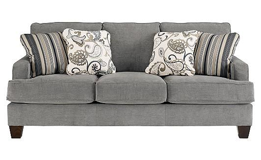 (want) a new couch Yvette - Steel