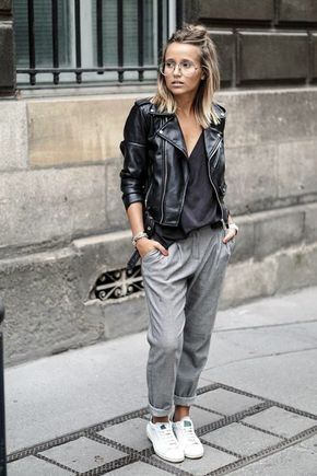 Image result for sweatpants styled with ballerina shoes