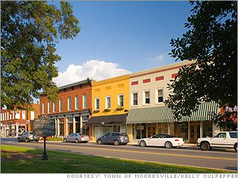 Beautiful photo of Historic Downtown Mooresville. #northcarolina #mooreseville #starkeybuilderservices