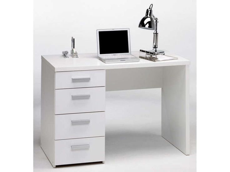 Bureau ado conforama perfect chambre adulte complete for Bureau pas large